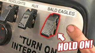 "FINALLY Putting the ""Bald Eagles"" Switch To Use... Here's What it Does!"