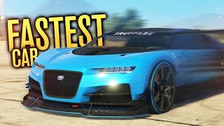 WORLD'S FASTEST CAR!! | GTA 5 (Online) w/ The Nobeds
