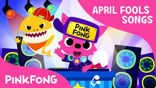 Baby Shock! | EDM Version of Baby Shark | April Fools' Animal Song | PINKFONG Songs for Children