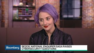 Bezos, National Enquirer Story Raises Cybersecurity Questions