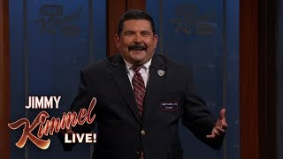 Guillermo Thinks Jimmy Kimmel Eats Too Much