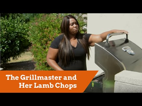 The Grillmaster and Her Lamb Chops