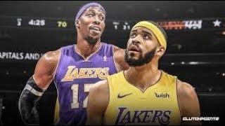 Dwight Howard & JaVale McGee Highlights with LA Lakers - 2019 NBA Preseason