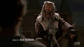 The Walking Dead - Carol meets King Ezekiel & Shiva the tiger.