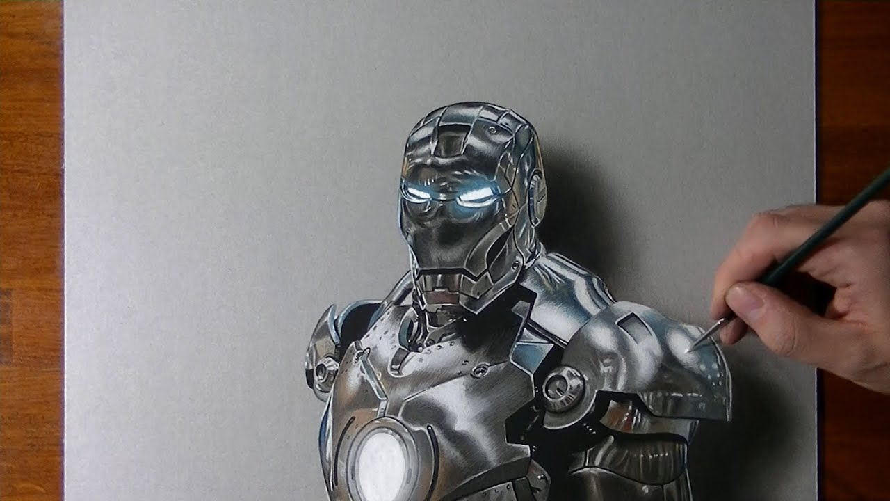 Comment dessiner Iron Man