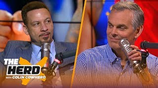 Kyrie & KD would be a 'great tandem' in NY, defends James Harden — Chris Broussard   NBA   THE HERD