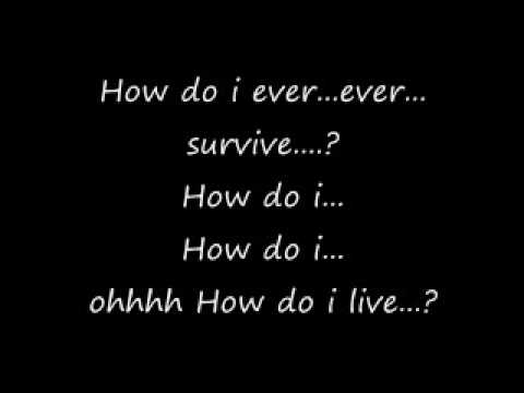 how do i live lyrics by Leann Rimes