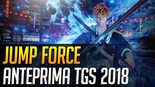 Jump Force - Anteprima dal Tokyo Game Show 2018