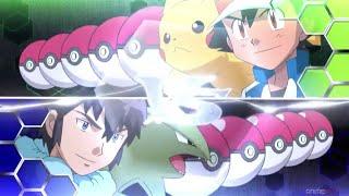 Ash VS Alain Pokémon League AMV