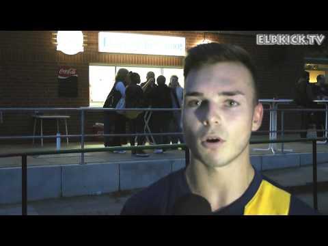 Kevin Lange (HSV Barmbek-Uhlenhorst II) - Die Stimme zum Spiel (SC Poppenbüttel - Barmbek-Uhlenhorst, Bezirksliga) | ELBKICK.TV