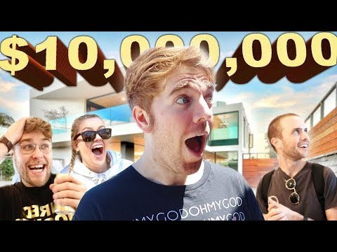 $10 Million Celebrity Mansion for a Day