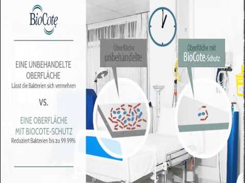 BioCote in Action - Hospital Ward - DE