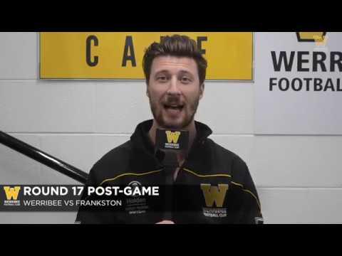 Jack Fitzpatrick: Round 17 post-game (Werribee vs Frankston)