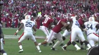 2012 Iron Bowl - Auburn vs. #2 Alabama Highlights