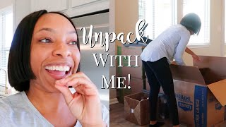 DAY #2 OF MOVING INTO MY NEW HOUSE | ORGANIZE & UNPACK WITH ME!!