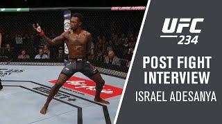 UFC 234: Israel Adesanya - 'I Nullified His Game'