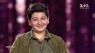 """Sasha Zazarashvili – """"All by myself"""" – Blind Audition – Voice.Kids – season 5"""