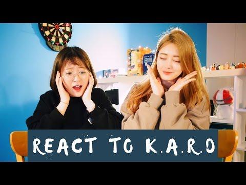 K.A.R.D - RUMOR MV REAÇÃO REACTION ㅣ WooLara