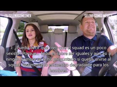 Carpool Karaoke Selena Gomez subtitulado en español (PT. 3)   Selena Gomez México