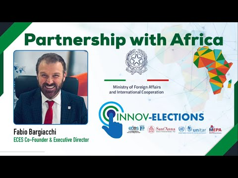 Fabio Bargiacchi announces the launch of InnovElections