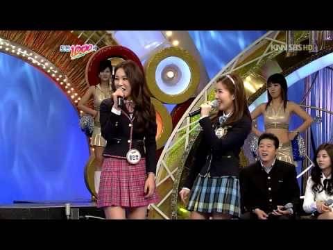 100411 Davichi Lee Haeri - Can't Let You Go Even If I Die