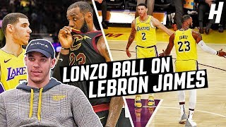 Lonzo Ball On Playing With LeBron James, 'Space Jam 2' & Trade Rumors