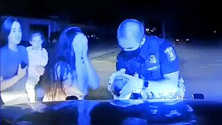 Cop Who Saved Choking Baby Stayed Calm Under Pressure