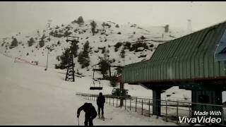 Awesome Snow Fall in Auli 2019 March