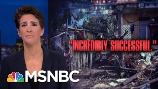 Breaking: President Trump Admin Took Millions From FEMA For ICE Detentions | Rachel Maddow | MSNBC