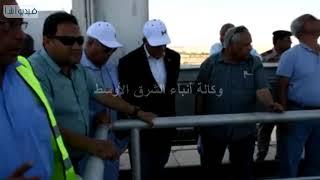 بالفيديو : وزير الرى مشروعات لحماية مناطق اسوان من السي ...