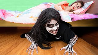 Monster under My Bed! | When You Are Living With a Ghost - Funny Situations and Awkward Moments