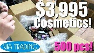 Cosmetics Overstock Unboxing   Via Trading   Reselling on eBay Mercari Poshmark