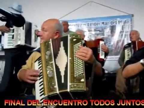 FINAL TODOS JUNTOS CON LOS ACORDEONISTAS DE Mar del Plata