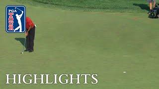 Tiger Woods' Highlights   Round 4   Quicken Loans 2018