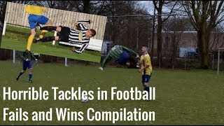 Horrible Tackles and Fights in Football | Football - Soccer Fails and Wins Compilation #2