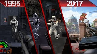 Evolution of Star Wars   First-Person Shooter Games   PC   1995 - 2017