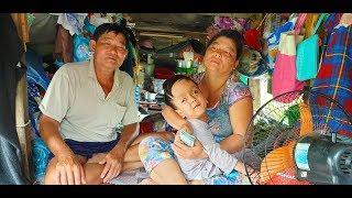 37 triệu đồng đến với gia đình hái rau nuôi con bị não úng thuỷ sống trên ghe
