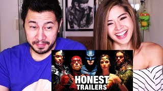 HONEST TRAILERS: JUSTICE LEAGUE | Reaction w/ Nicole Soper!