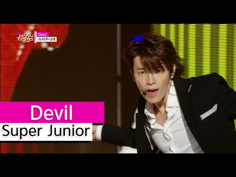 [HOT] Super Junior - Devil, 슈퍼주니어 - 데빌, Show Music core 20150808