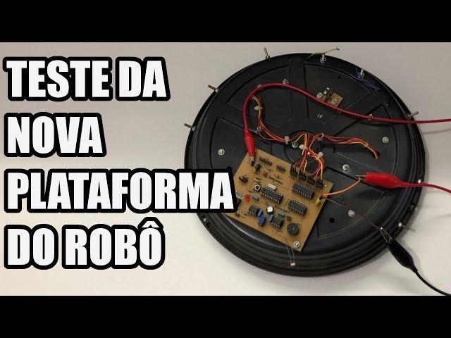 TESTE PRÁTICO DA PLATAFORMA DO ROBÔ ASPIRADOR | Usina Robots US-3 #014