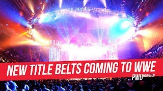 New Title Belts Coming To WWE