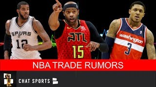 NEW NBA Trade Rumors: LaMarcus Aldrige To The Kings, Bradley Beal Trade & Heat Moving Dion Waiters?