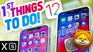 iPhone XS - First 12 Things To Do! TOP Tips & Tricks On XS Max