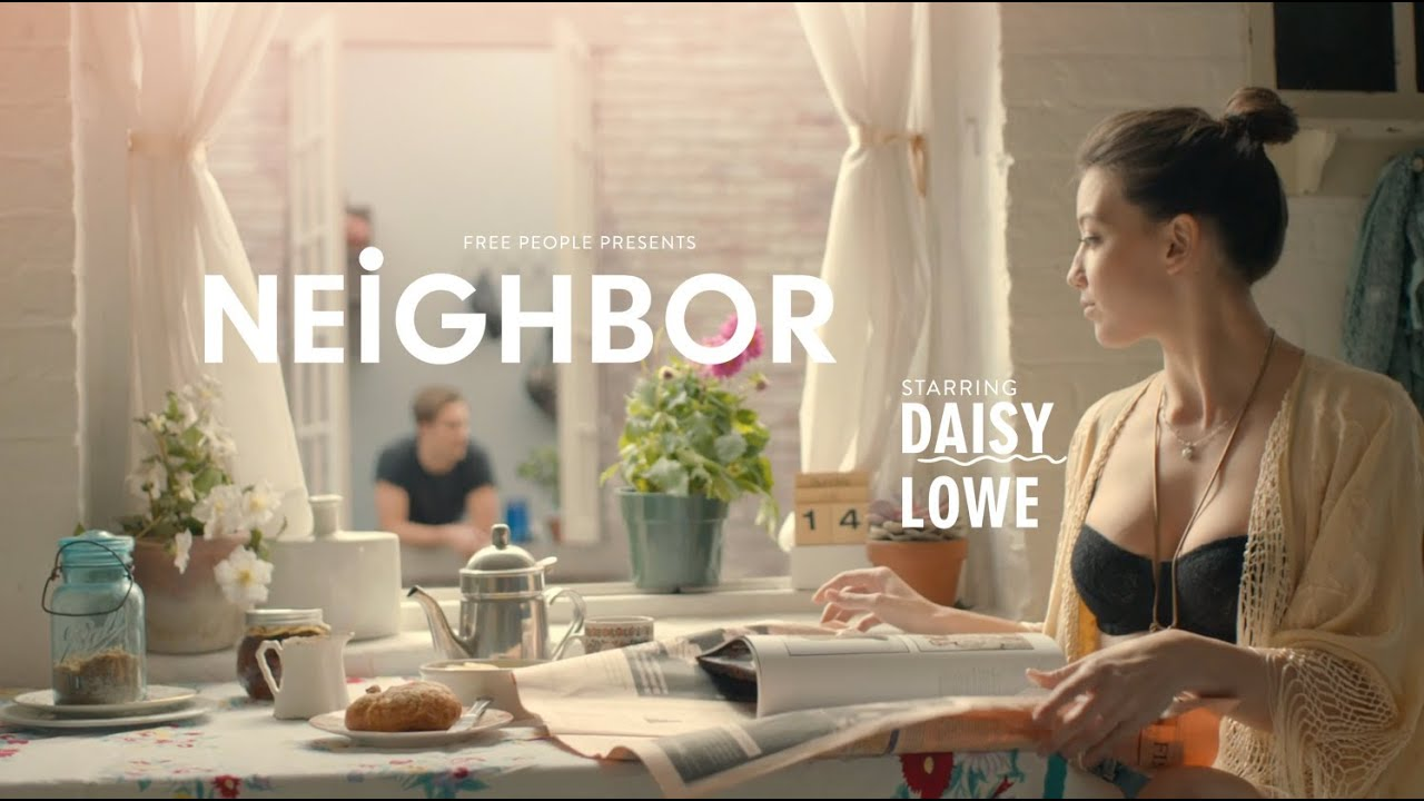 Free People Presents Neighbor Featuring Daisy Lowe Youtube