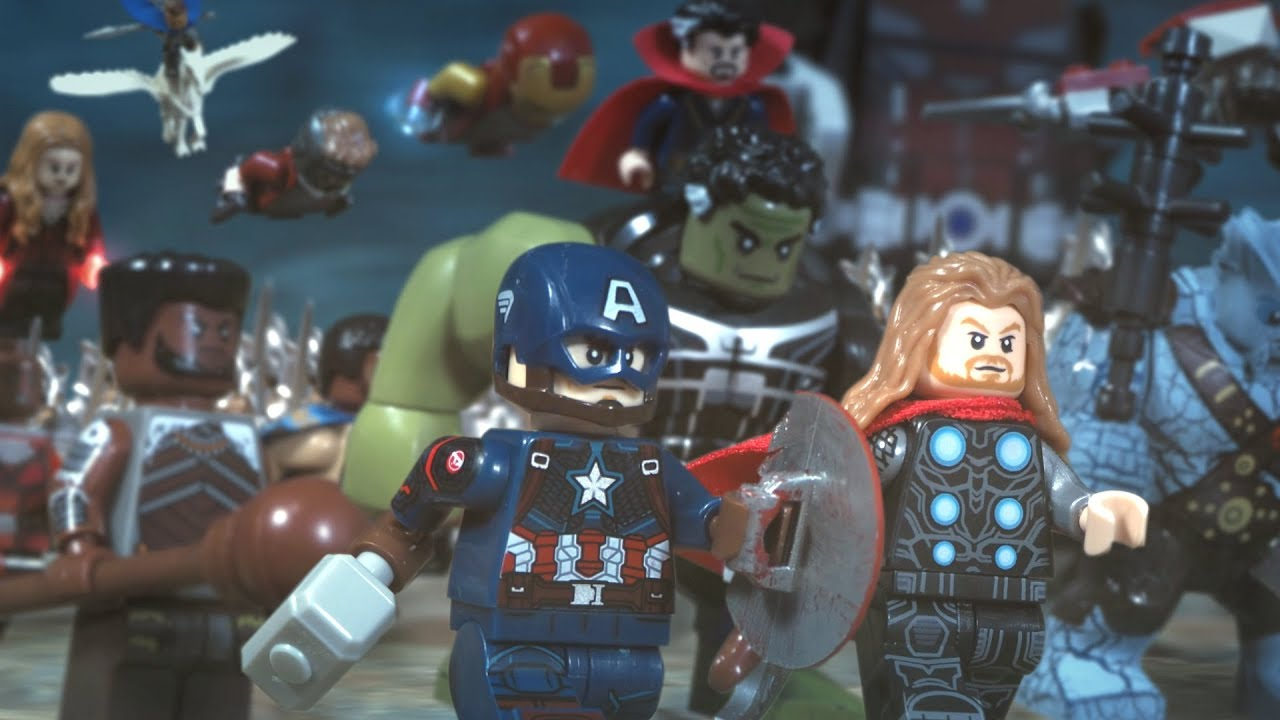 All Lego Avengers Endgame Sets