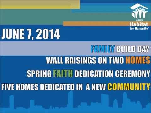 May 2014 Habitat Blueprint