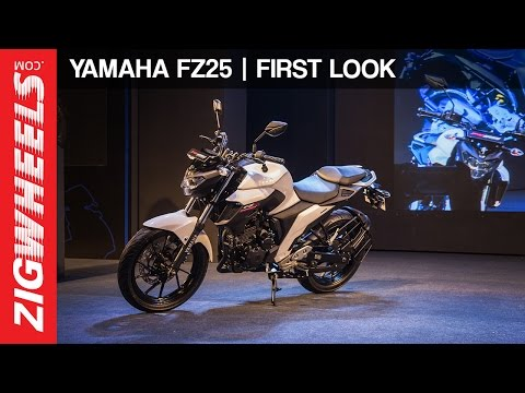 Yamaha FZ25: First Look Video