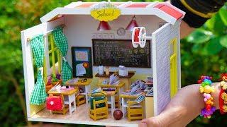 DIY Miniature Doll Classroom: 6 DIY School Supplies Sets