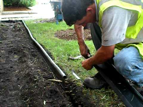 The Lawn Ranger Edging Installation Youtube