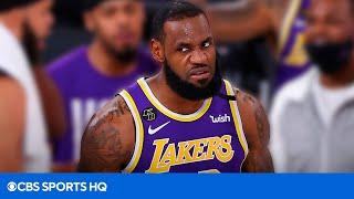 LeBron James Deletes A Tweet Defending His Veteran Lakers Squad | CBS Sports HQ